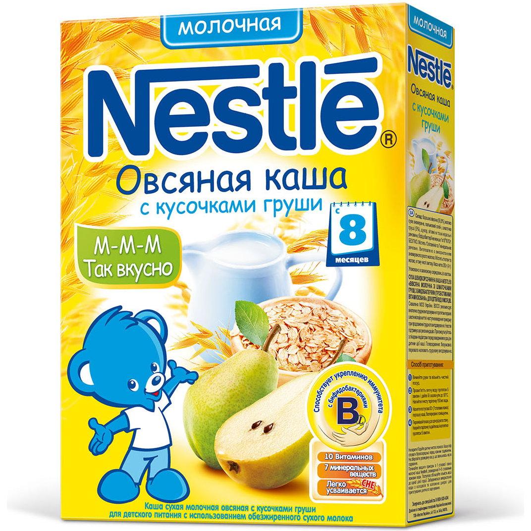 Каша Nestle молочная 250 гр Овсяная с грушей (с 8 мес)<br>