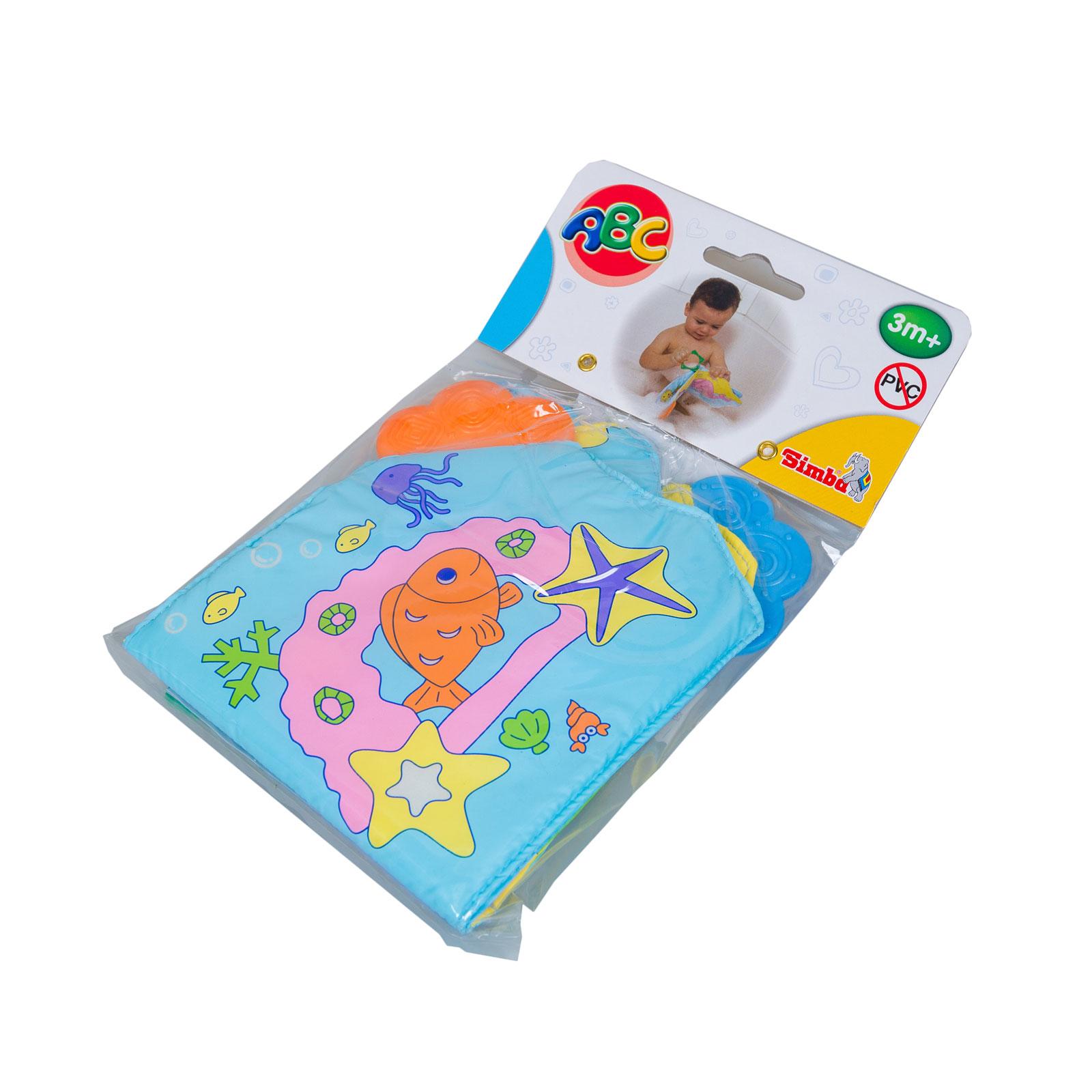 Игрушка для ванной Simba Книжка Морские животные для купания с 3 мес.<br>