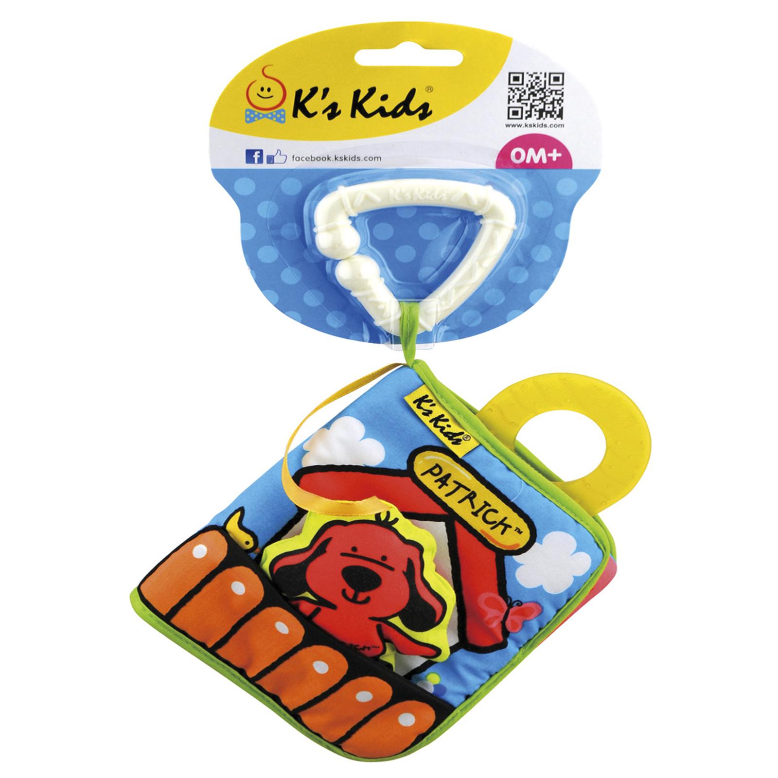 Развивающая игрушка K&amp;#039;s Kids Первая книжка с 6 мес.<br>