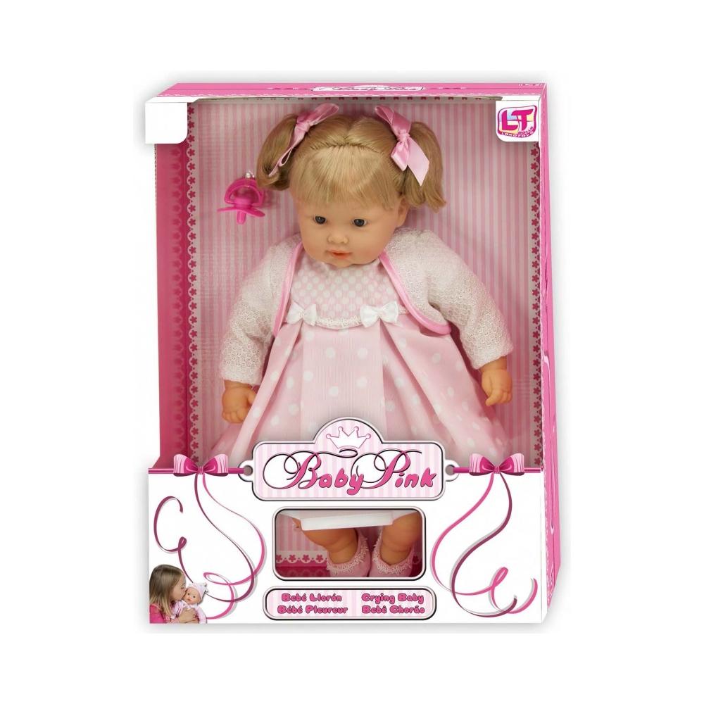 Кукла LOKO TOYS Baby Pink Девочка<br>