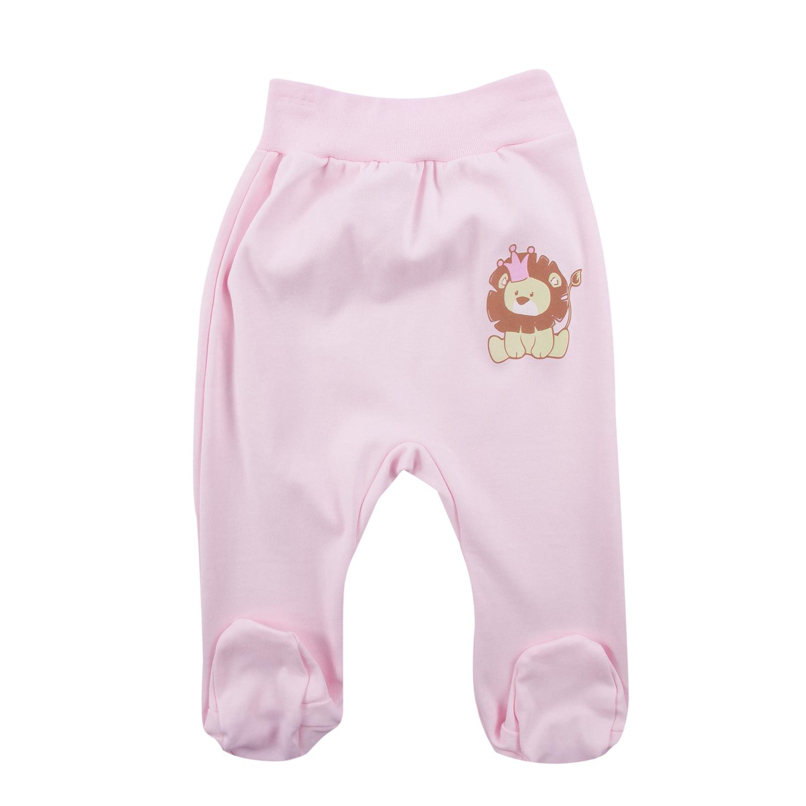 Ползунки КОТМАРКОТ для девочки, цвет розовый 6-9 мес (размер 74)<br>