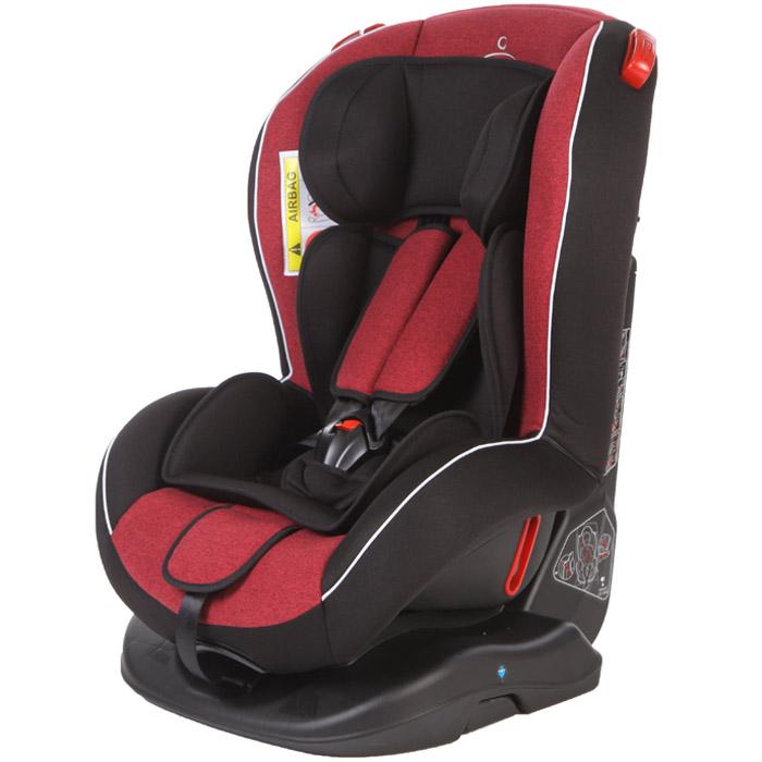 Автокресло Baby Care Basic Evolution Красный и Чёрный<br>
