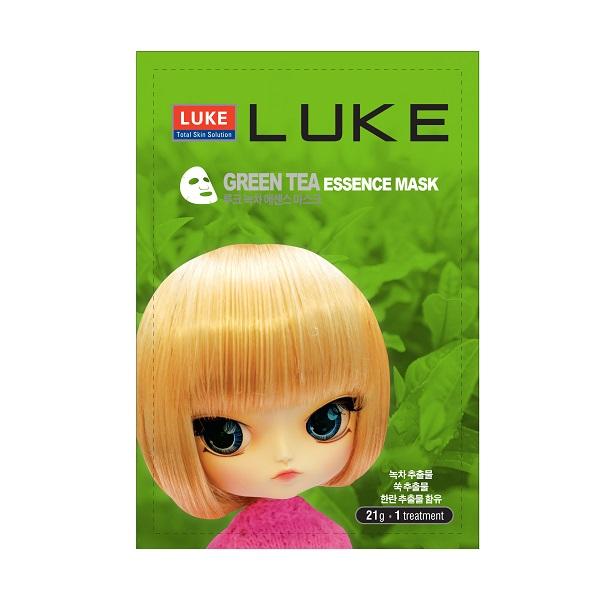 Маска Luke для лица с экстрактом зеленого чая 21 гр