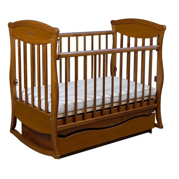 Кроватка Наполеон Грация Орех и Ольха<br>