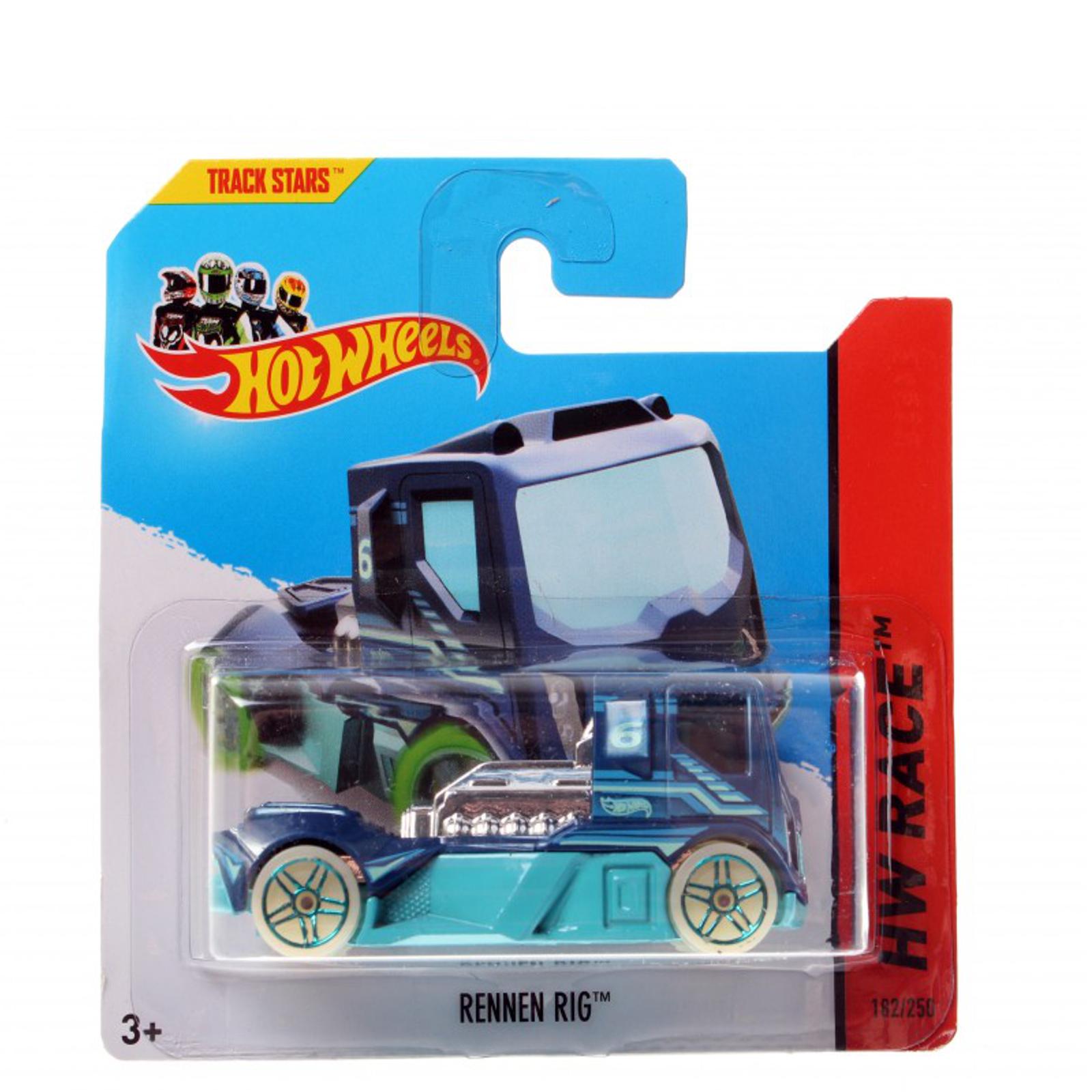 Мотогонщики Hot Wheels для треков Rennen Rig