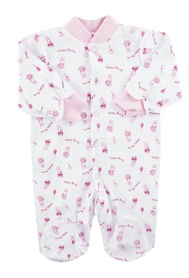 Комбинезон КОТМАРКОТ для девочки, цвет набивка розовый тон