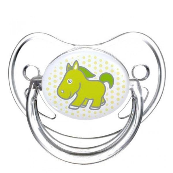 Пустышка Canpol Babies Transparent Анатомическая силиконовая (с 0 мес) лошадка<br>