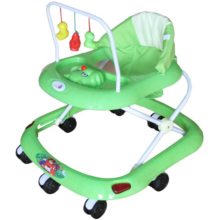Ходунки Alis Маленький водитель Зеленый<br>