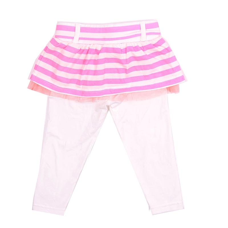 Комплект FOX Фокс для девочки: бриджи, юбка цвет неоновый розовый с 2 лет