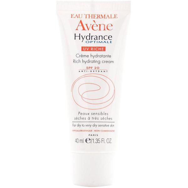 Крем для лица и шеи Avene Hydrance Optimale Riche UV20 увлажняющий защитный для сухой кожи 40 мл<br>