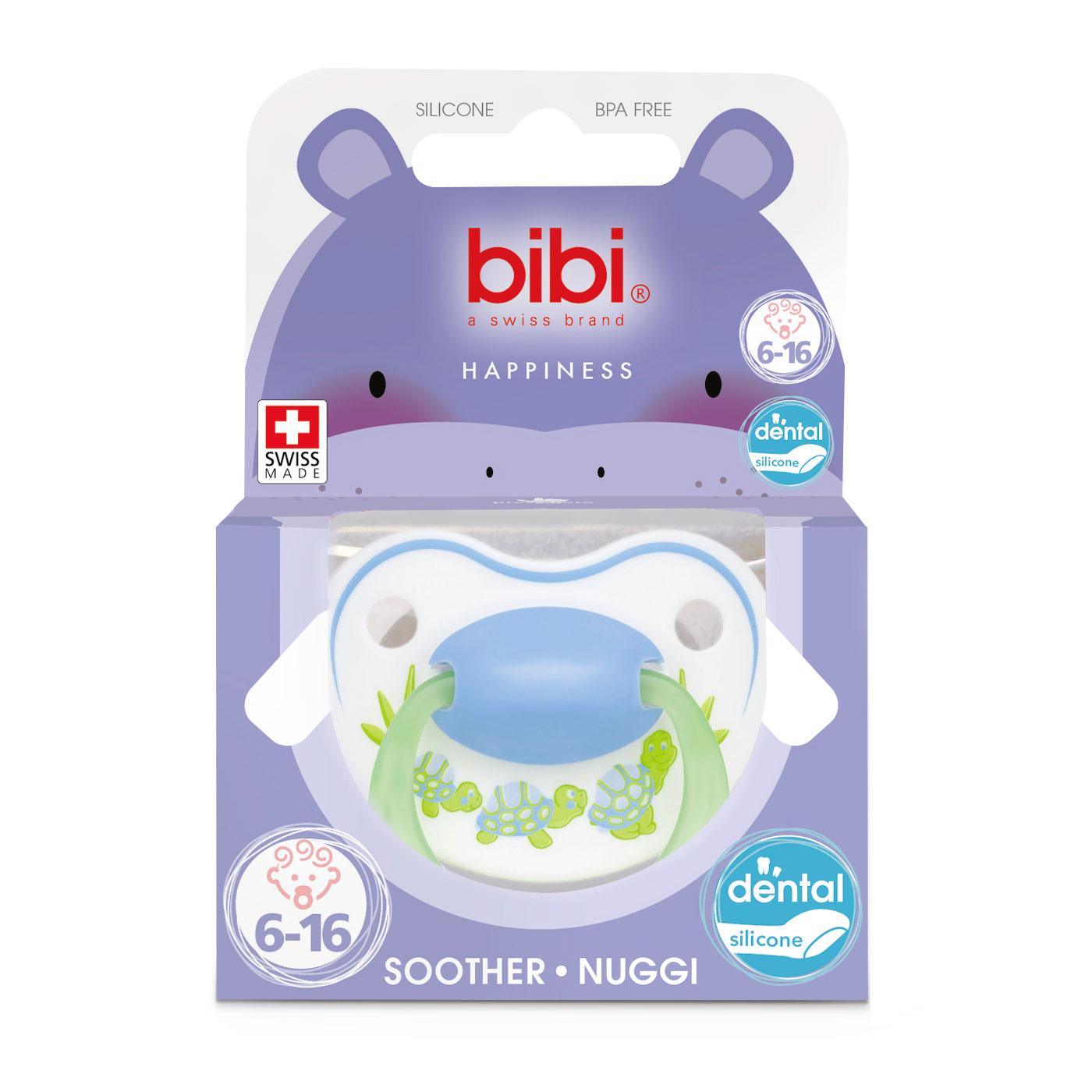Пустышка Bibi Premium Dental Happiness PlayWithUs  (с 6 мес)<br>