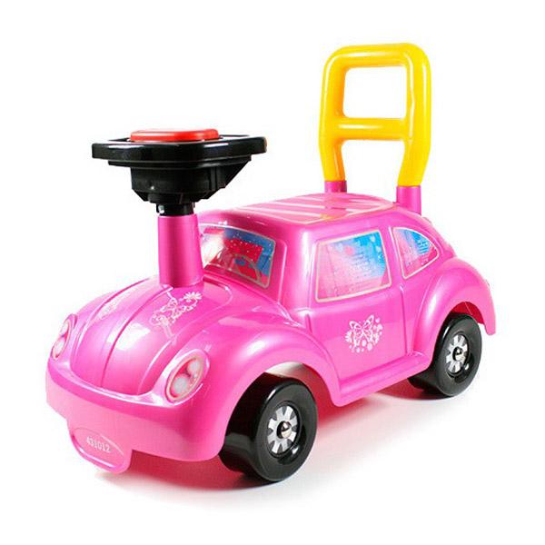 Каталка Нордпласт Авто Go! Розовое чудо!