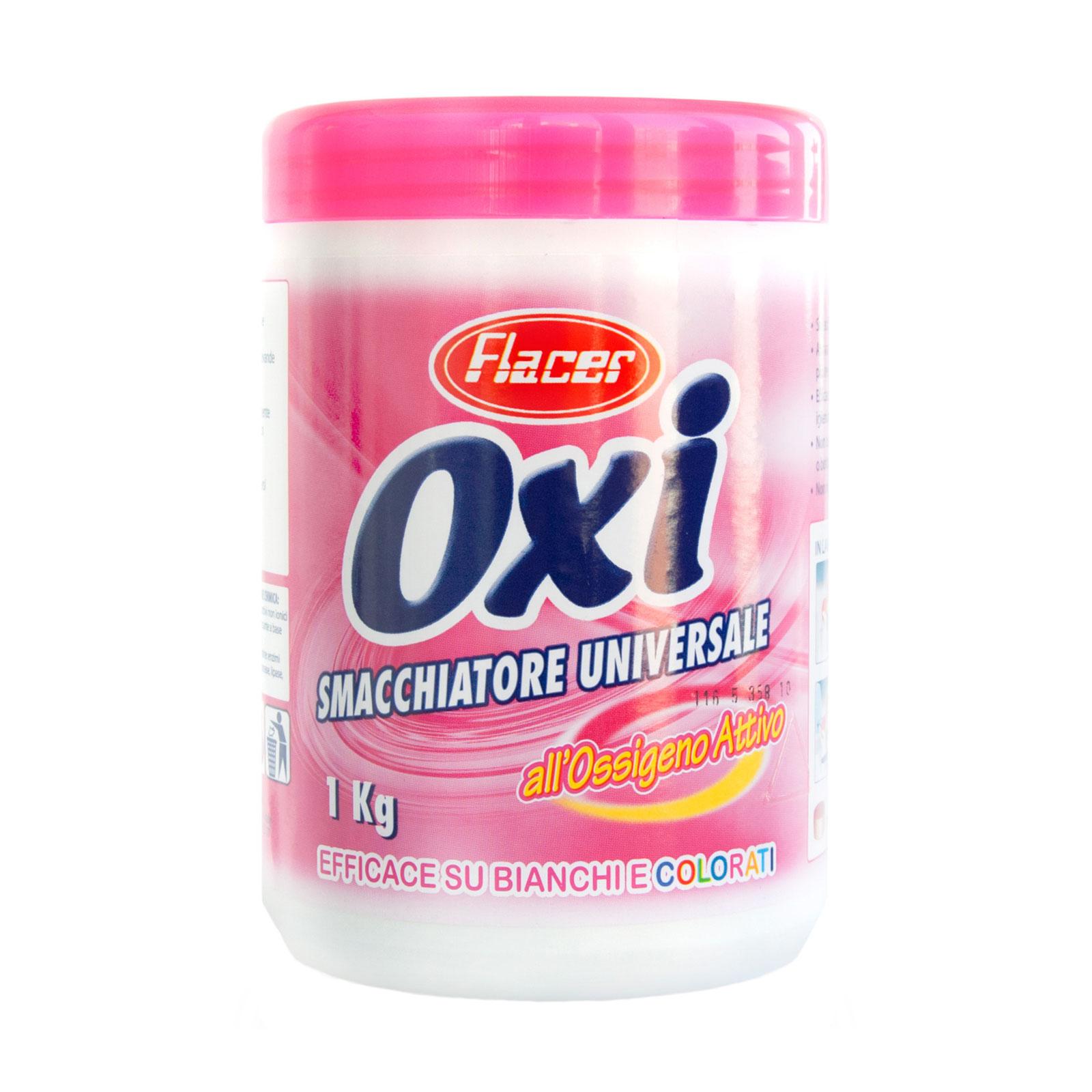 Пятновыводитель Flacer Oxy Powder с активным кислородом 1 кг<br>