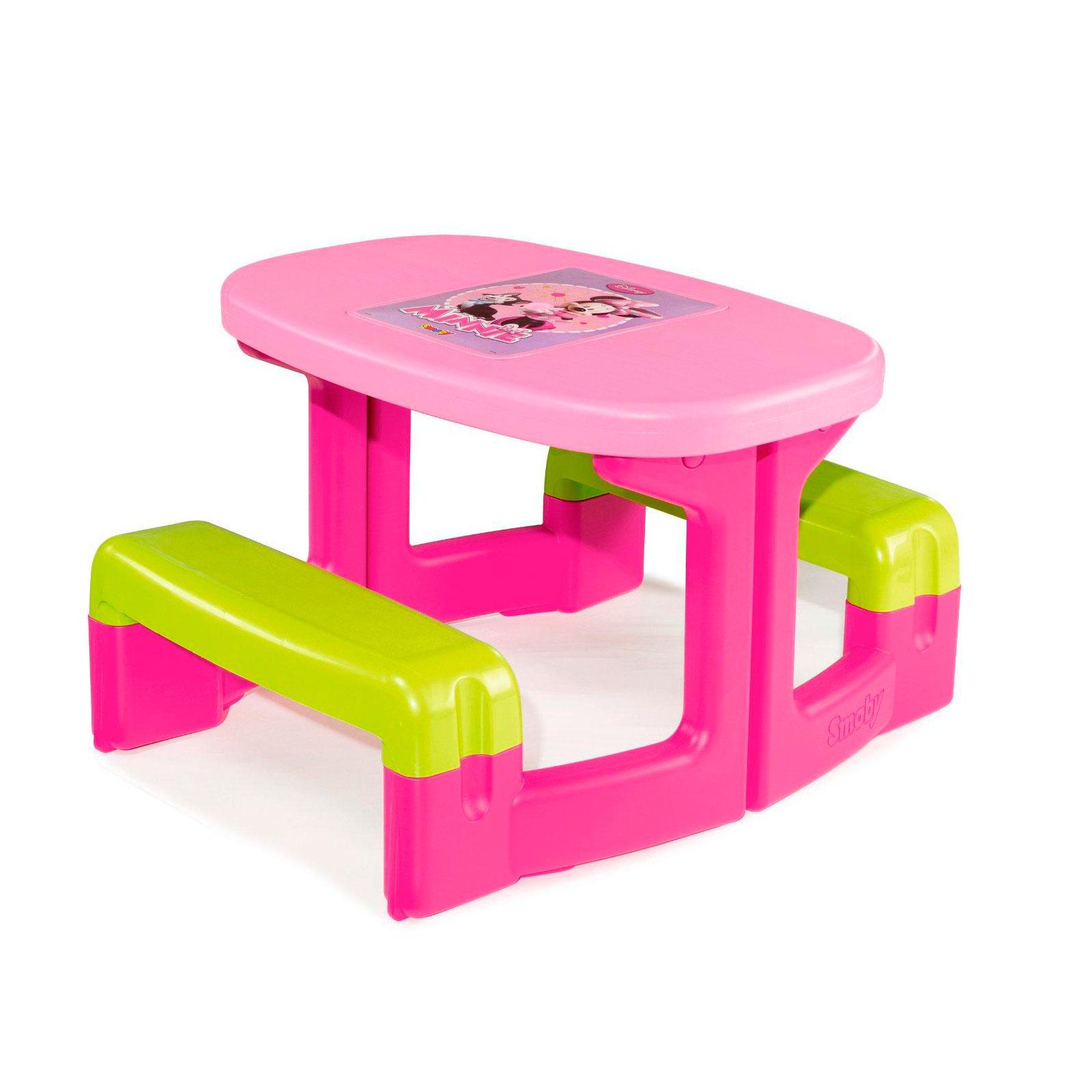Игровая мебель Smoby Столик для пикника Minnie<br>