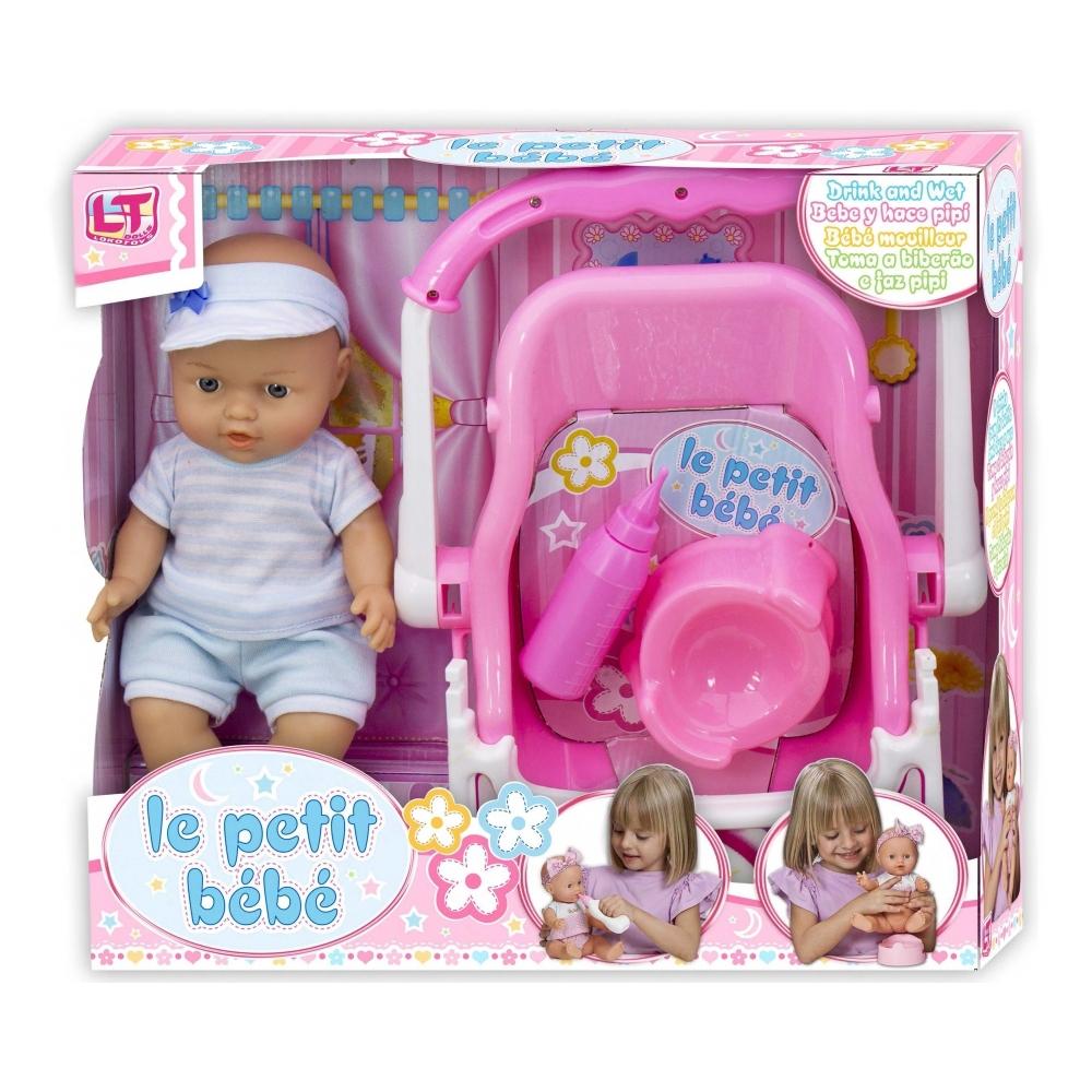 Кукла LOKO TOYS Le Petit Bebe с автокреслом<br>