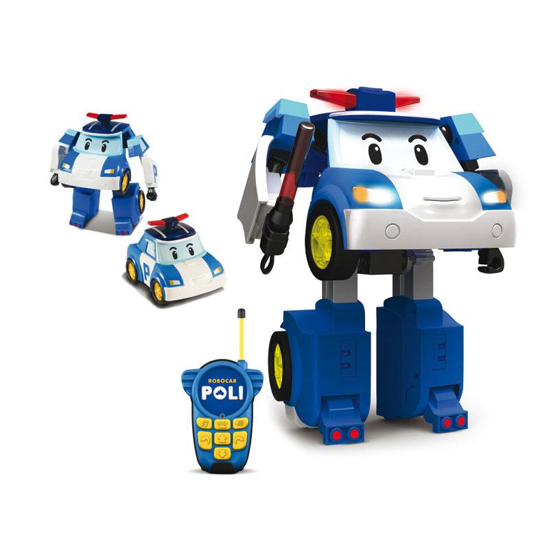 Развивающая игрушка Silverlit Робот-трансформер Поли с 3 лет<br>