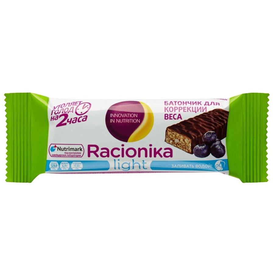 Батончик Racionika для коррекции веса Черника 45 гр<br>