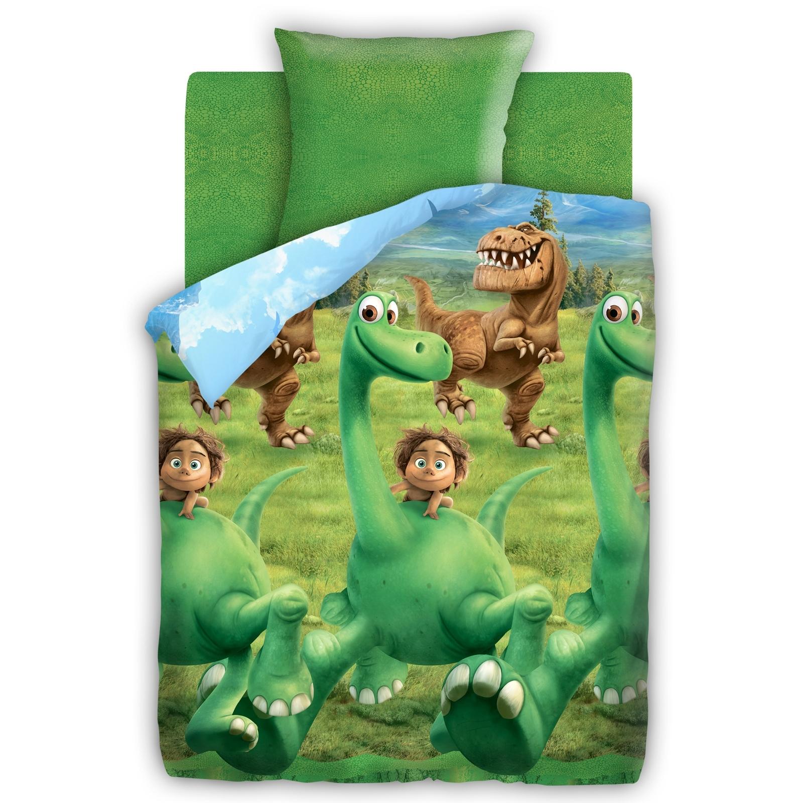 Комплект постельного белья детский 1.5 бязь Непоседа Хороший Динозавр с наволочкой 70х70 Динозавр<br>