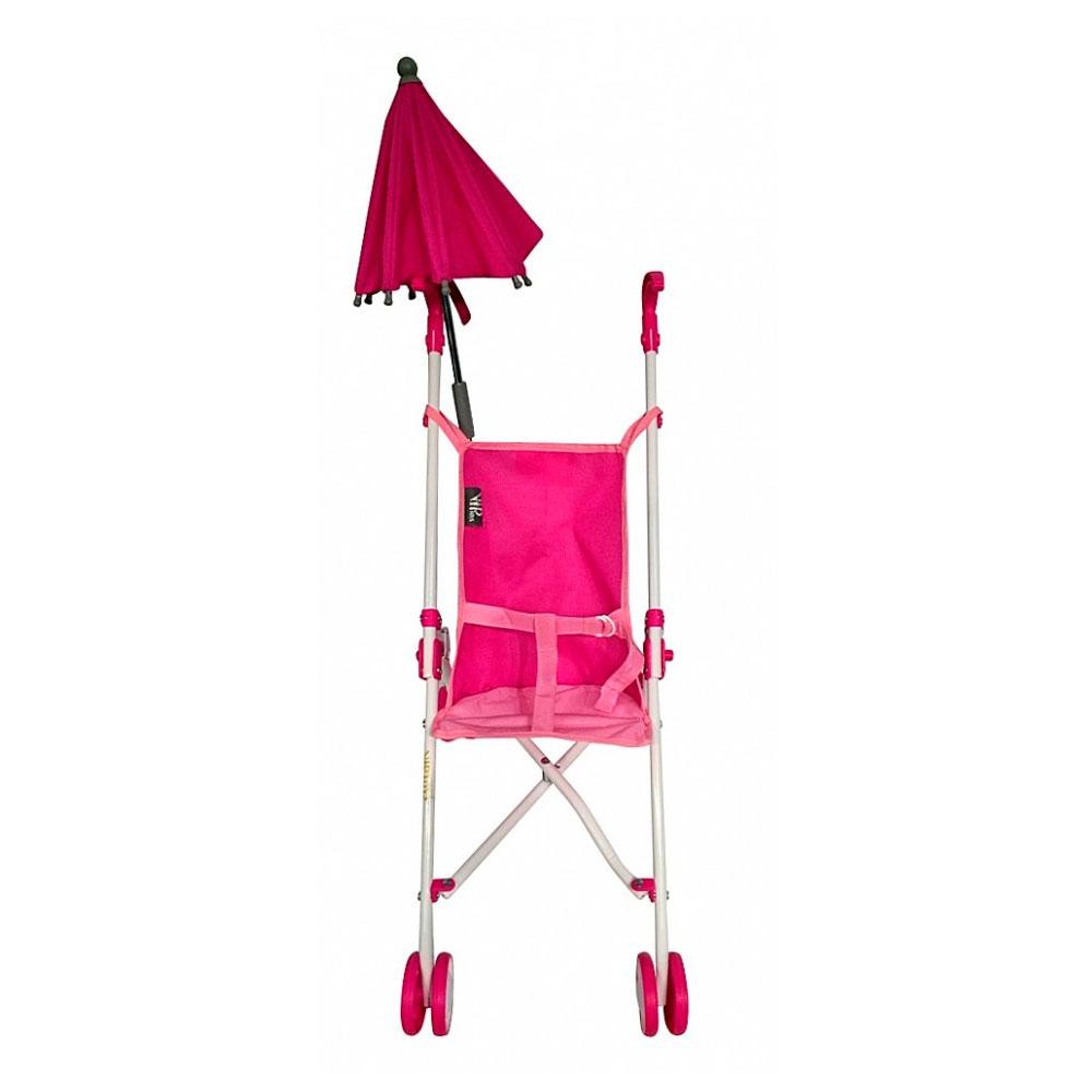 Кукольная коляска RT Фуксия  6100U<br>