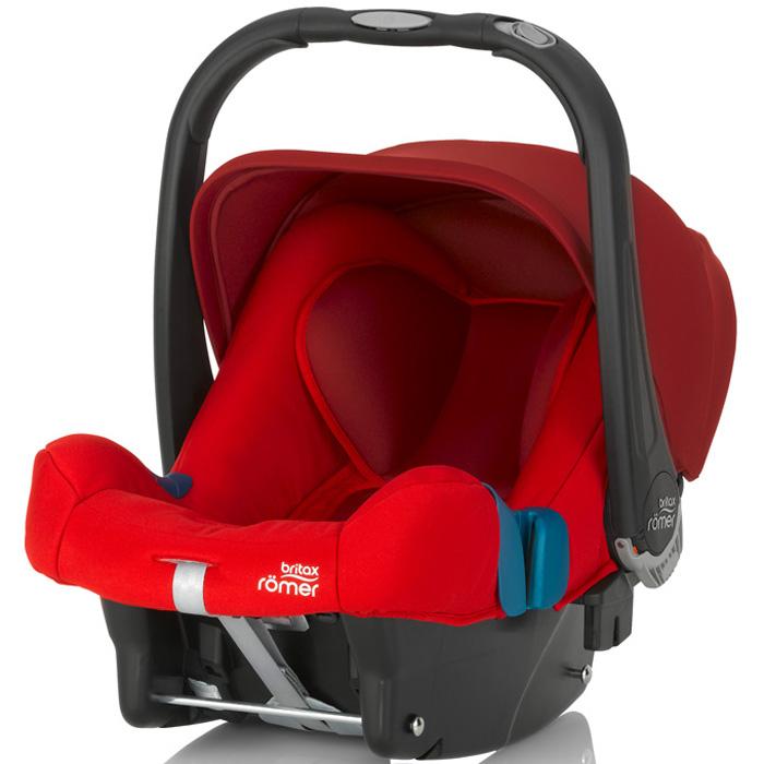 Автокресло Britax Romer Baby-Safe Plus SHR II Flame Red Trendline<br>