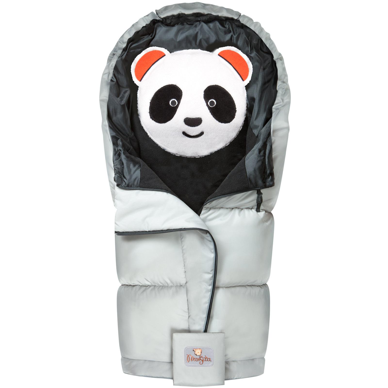 Конверт Mansita Panda флис Серебро<br>