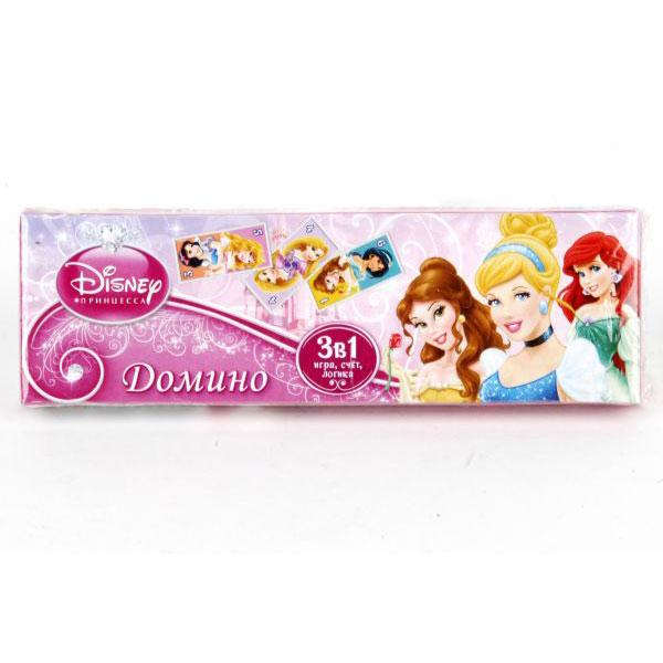 Настольная игра Умка Домино Disney Princess<br>