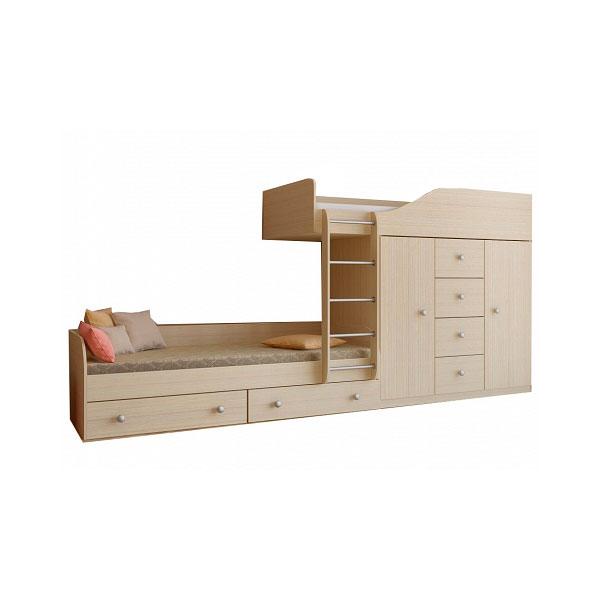 Набор мебели РВ-Мебель Астра 6 Дуб молочный<br>
