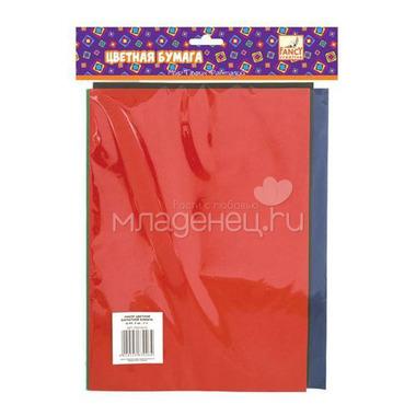 Набор цветной бархатной бумаги FANCY CREATIVE A4 5 цветов 5 листов