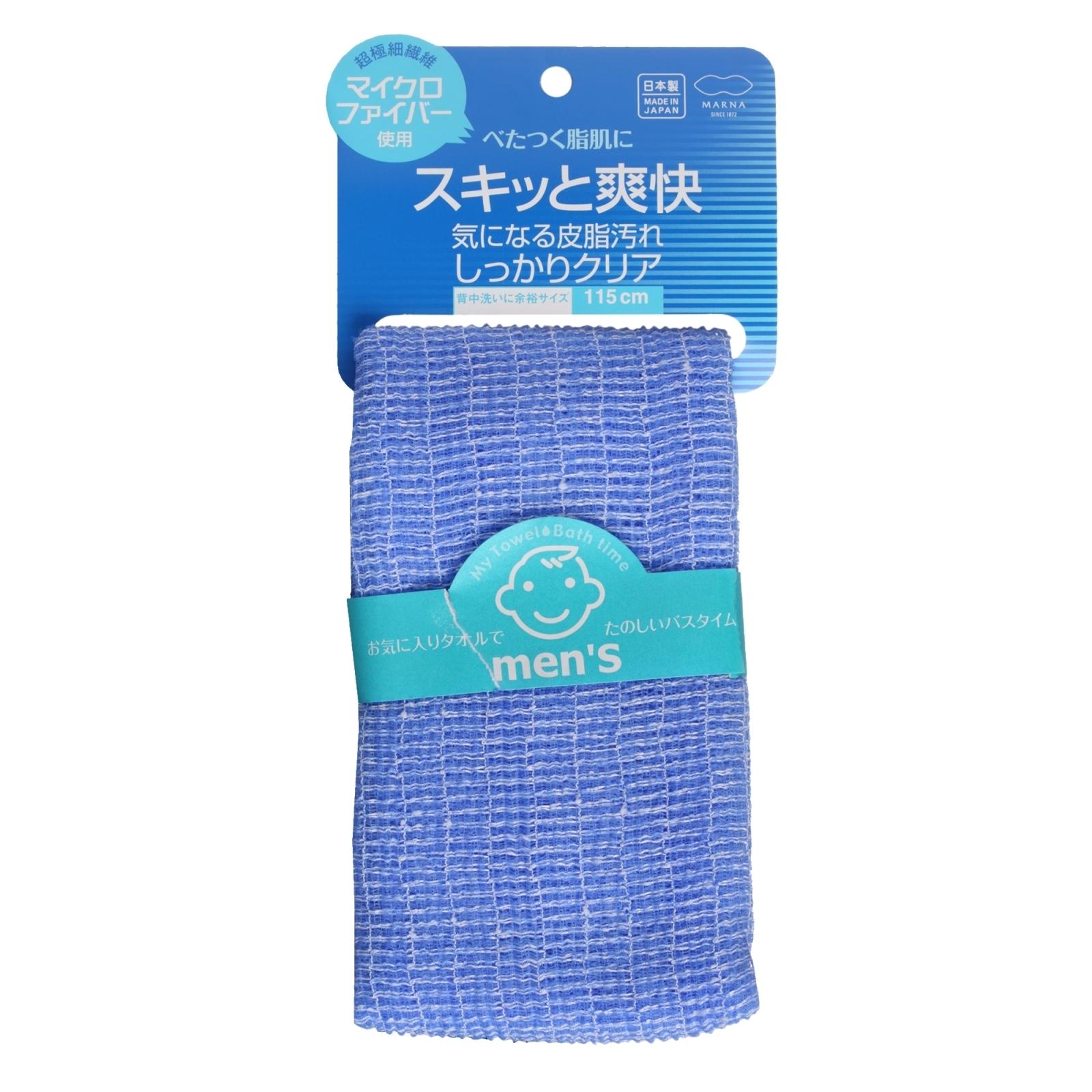 Мочалка для мужчин Marna из микрофирбы 1 шт (Marna Cosmetics)