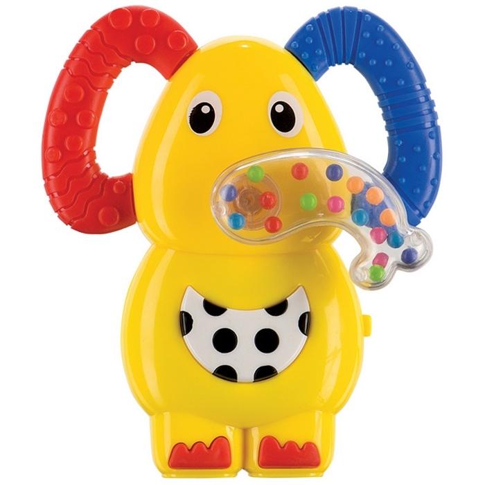 Погремушка-прорезыватель Happy Baby Музыкальный Слоненок JUMBO<br>