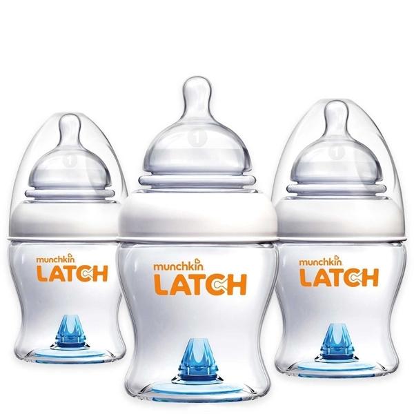 Бутылочка Munchkin LATCH 3 шт 120 мл + соска (с 0 мес)<br>