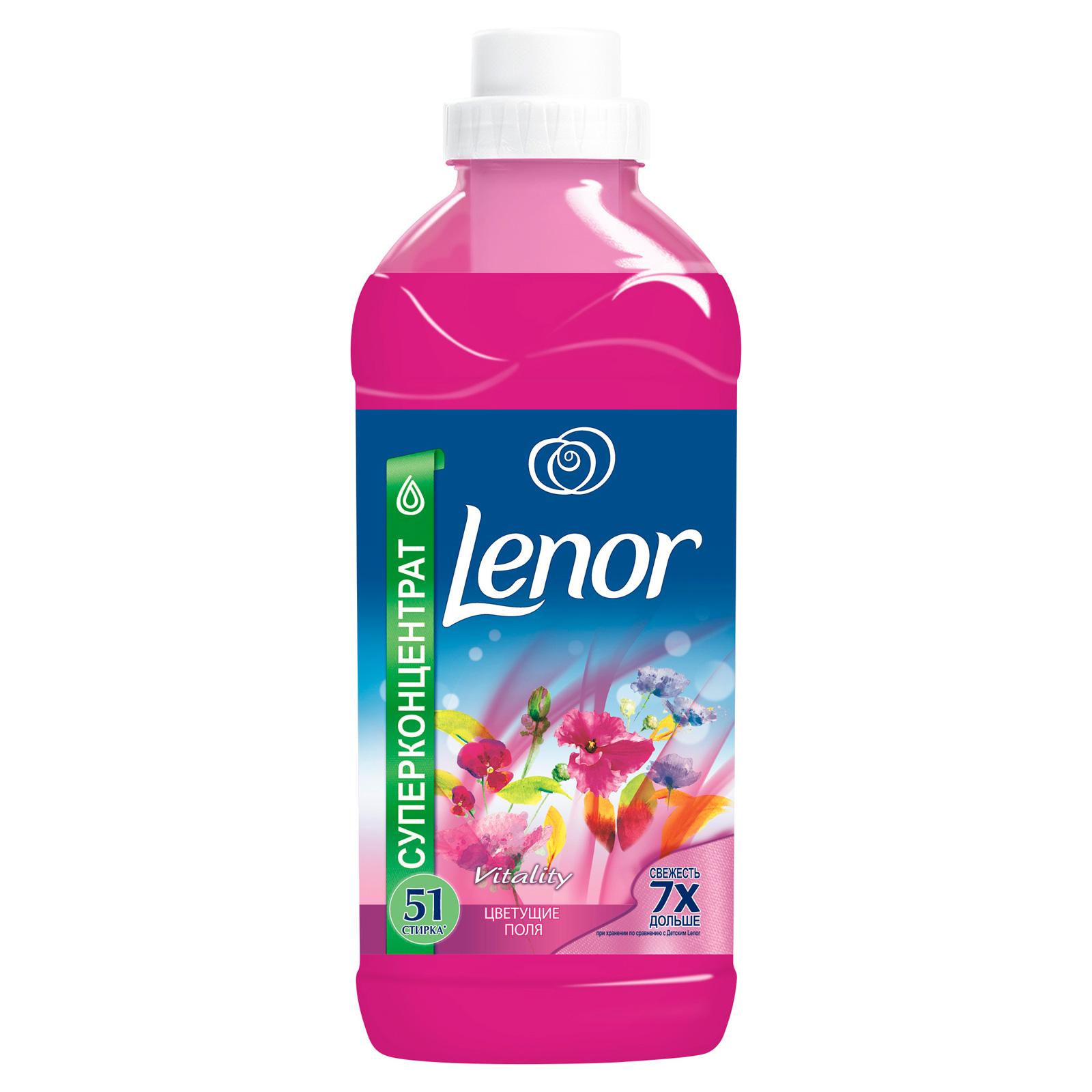 Кондиционер для белья Lenor 1,8 л Цветущие Поля 1,8л (51стирка)<br>