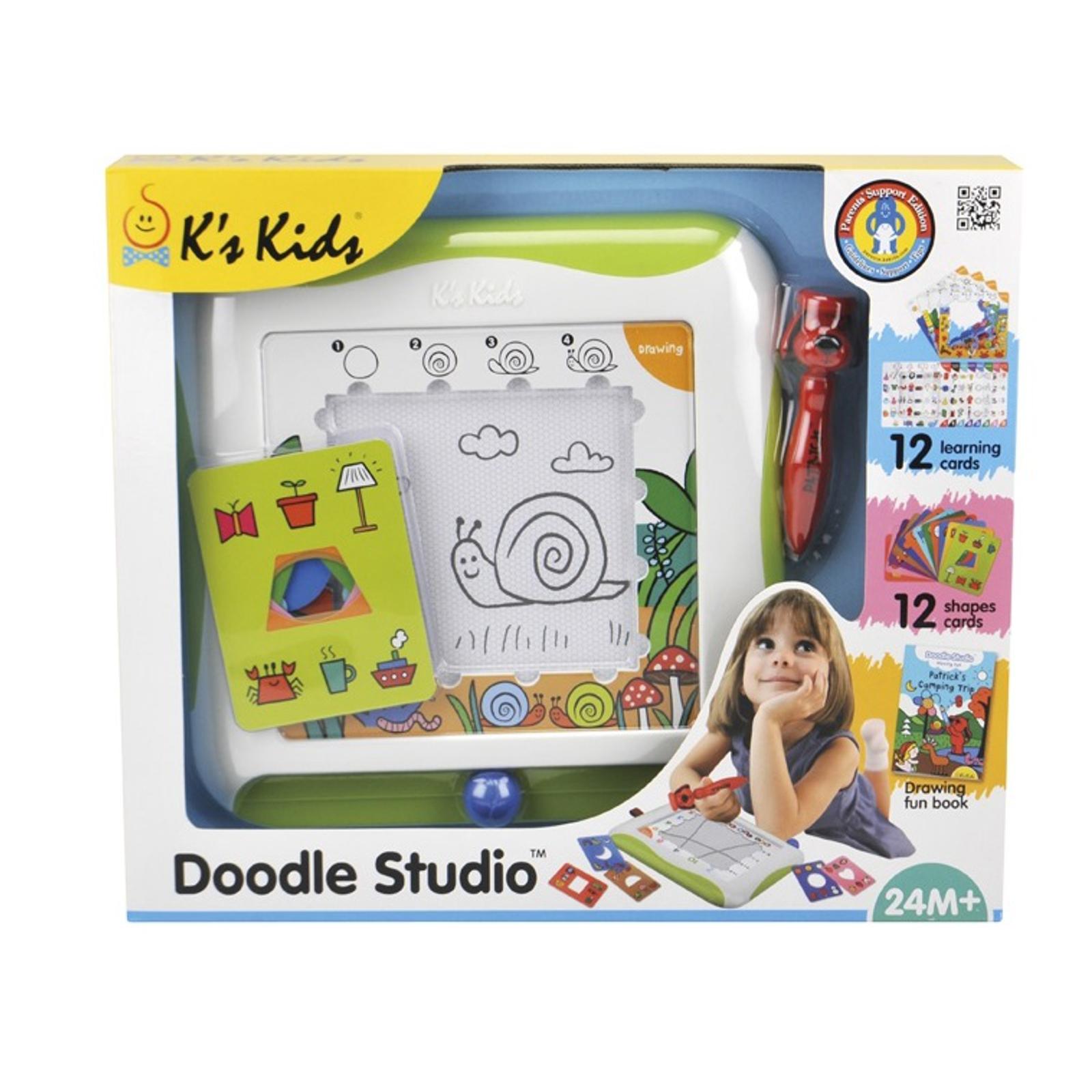 Развивающие игрушки K&amp;#039;s Kids Доска для рисования с обучающими карточками с 12 мес.<br>