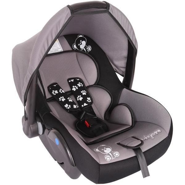 Автокресло Baby Care BC-321 Люкс Мишка Серый<br>
