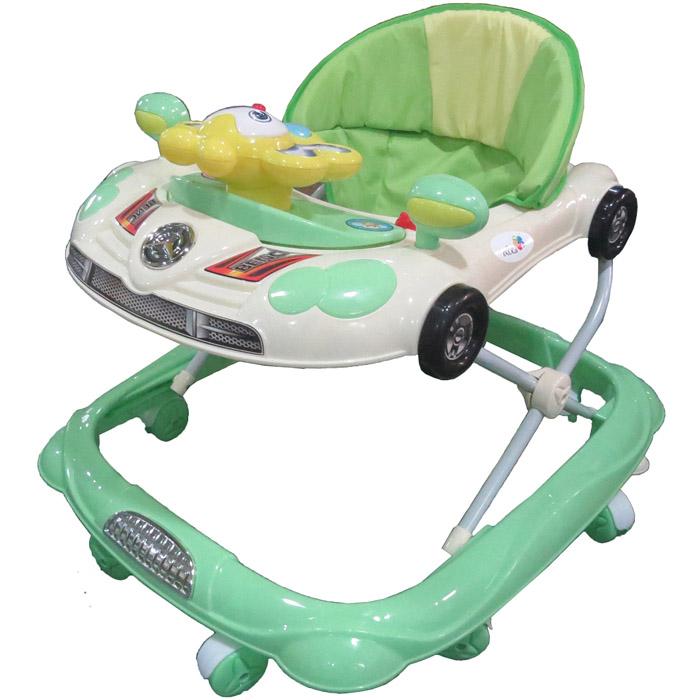 Ходунки Alis Веселая машинка Зеленый<br>