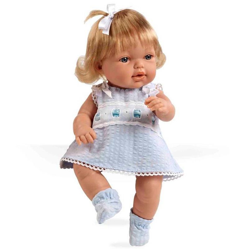 Кукла Arias 33 см Блондинка в голубом платье<br>