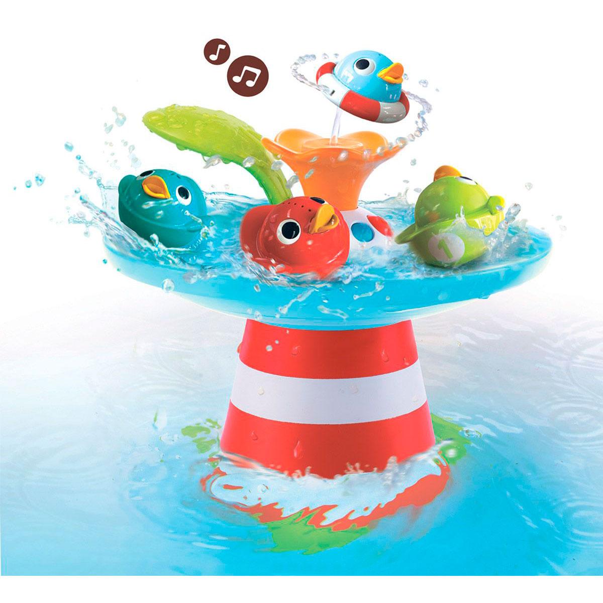Игрушка для ванны Yookidoo Музыкальная игрушка - фонтан Утиные гонки<br>