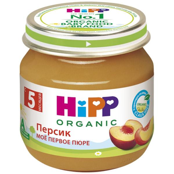 Пюре Hipp фруктовое 80 гр Персик (с 4 мес)<br>
