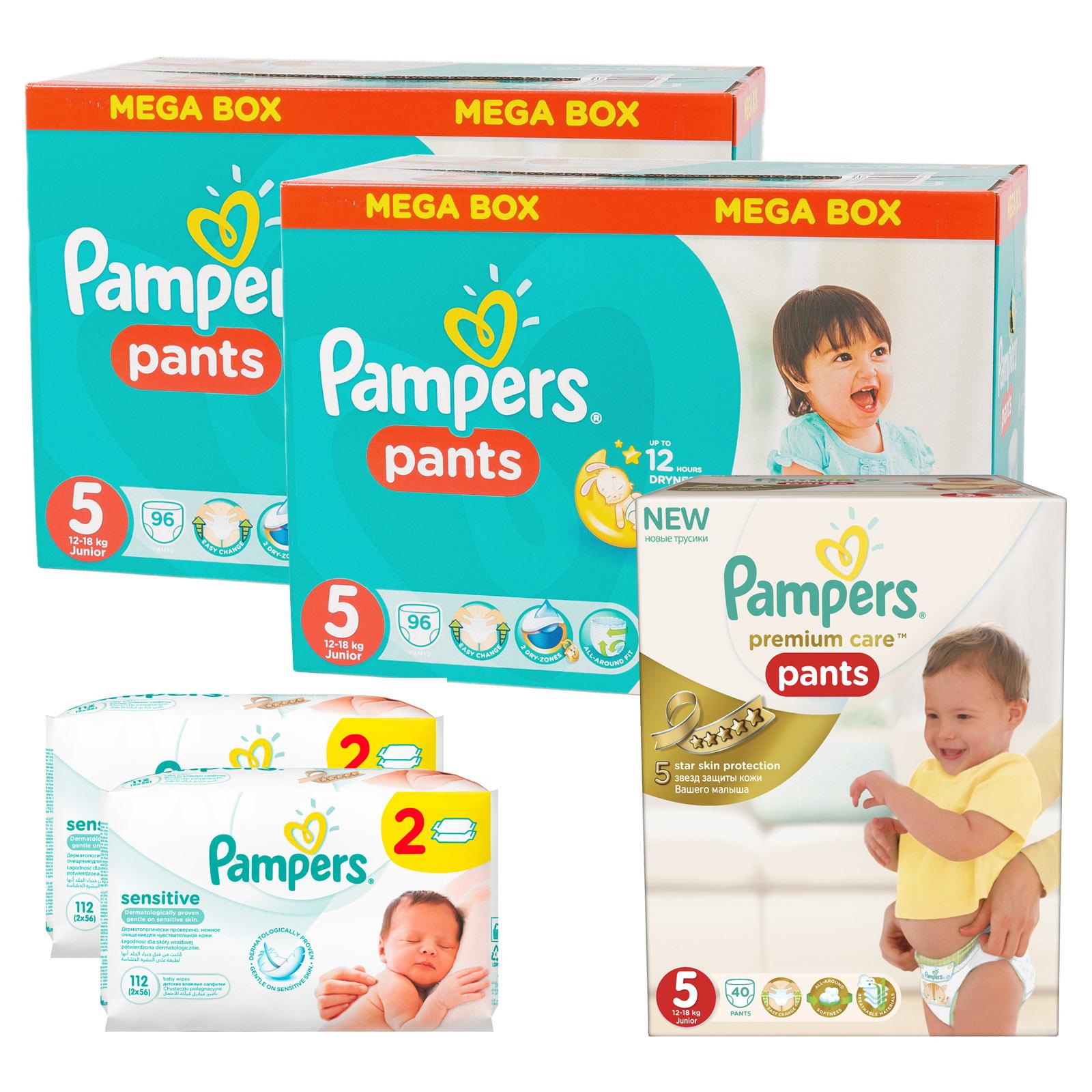 Набор Pampers № 10 Трусики Premium Care (5 размер)<br>