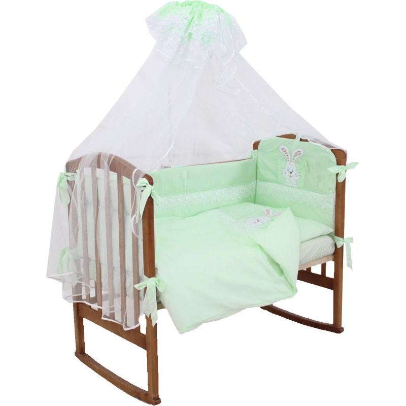 Комплект Папитто Сладкий сон 7 предметов Салатовый<br>