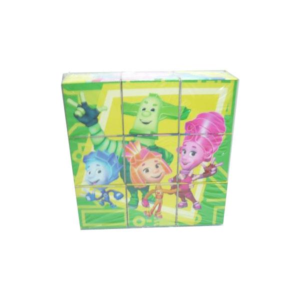 Развивающая игрушка Умка Фиксики Набор из 9-и кубиков<br>