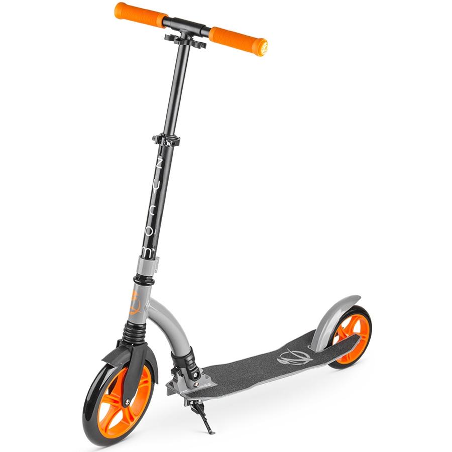Самокат Zycom Easy Ride 230 с большими колесами Silver/Orange<br>