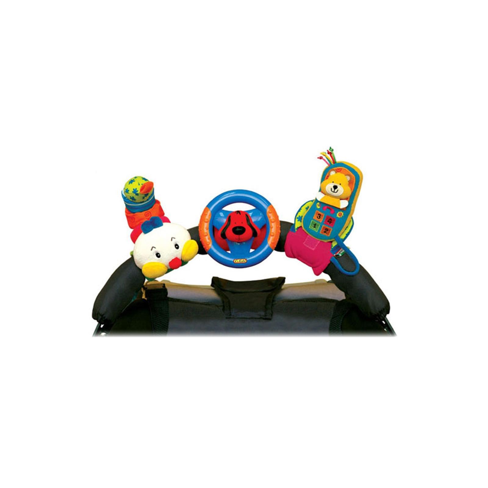 Развивающая игрушка K&amp;#039;s Kids Набор: гусеница, руль и мобильный телефон на креплении с 0 мес.<br>