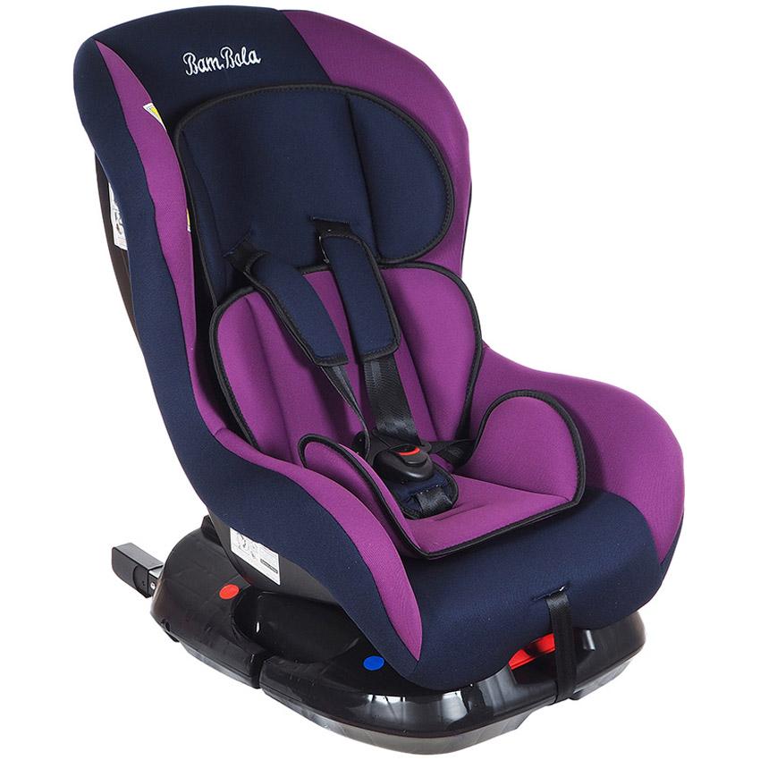 Автокресло Bambola Bambino IsoFix Фиолетовый с синим<br>