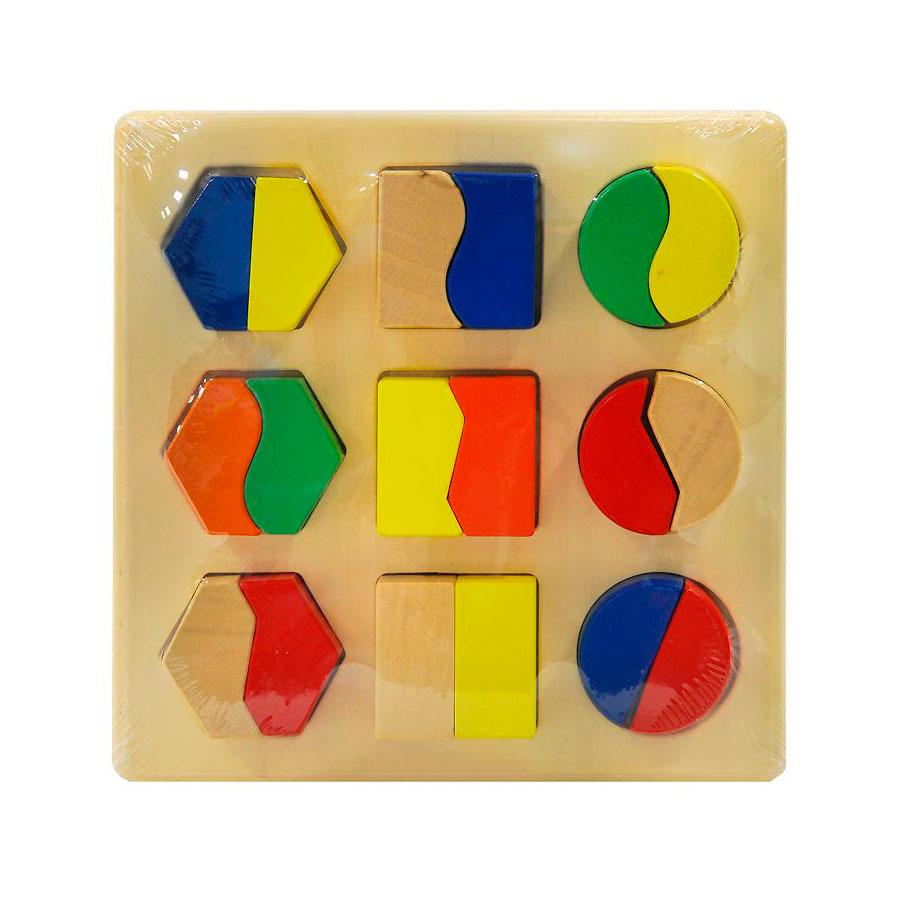 Развивающая игра Деревянные игрушки Половинки<br>