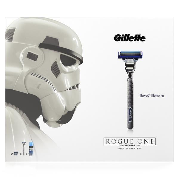 Подарочный набор Gillette Mach3 Бритва с 1 кассетой + сменные кассеты 2шт + гель для бритья экстракомфорт 75 мл<br>