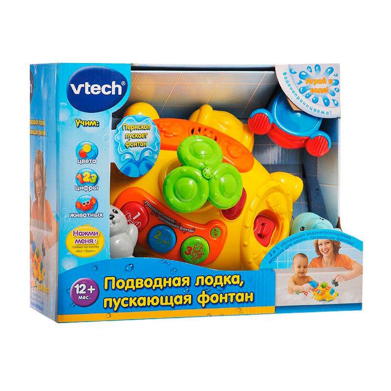 Развивающая игрушка Vtech Подводная лодка пускающая фонтан<br>