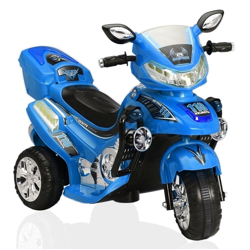 Электромотоцикл RT на трех колесах Синий<br>