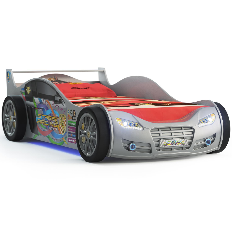 Кровать-кроссовер Grifon Style RХ800 Серебристый металлик<br>