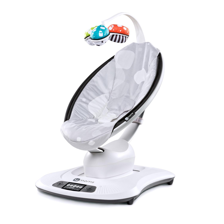 Кресло-качалка 4moms MamaRoo Серый плюш<br>